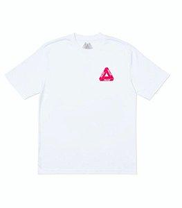 """PALACE - Camiseta Velvet Pink Logo """"White"""""""