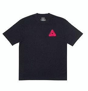 "PALACE - Camiseta Velvet Pink Logo ""Black"""