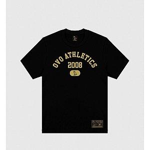 """OVO - Camiseta Athletics """"Black"""""""
