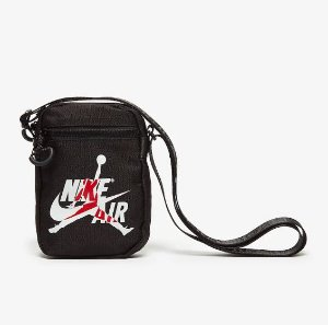 "NIKE - Bolsa Shoulder Jumpman Classic ""Black/White"""