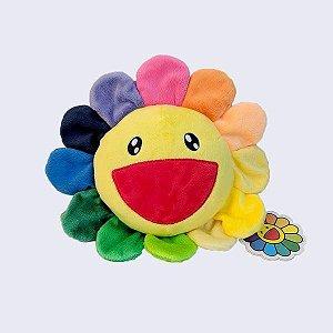 """KAIKAI KIKI - Pelúcia Takashi Murakami Flower Kutakuta """"Rainbow"""" -NOVO-"""