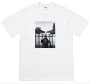 "SUPREME x UNDERCOVER/PUBLIC ENEMY - Camiseta White House ""White"""