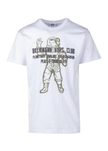 "BILLIONAIRE BOYS CLUB - Camiseta Visitor ""White"""