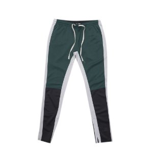 EPTM - Calça Color Block Track ''Green/White/Black'' -USADO-