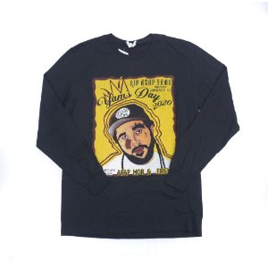 A$AP YAMS - Camiseta Manga Longa Yams Day 2020 Merch ''Black''