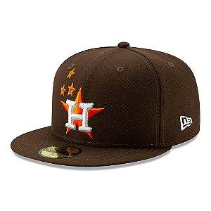 "TRAVIS SCOTT - Boné Houston Astros 59Fifty Fitted ""Brown"""