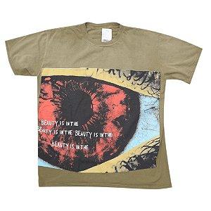 "TRAVIS SCOTT - Camiseta Astrofest Beauty In The Eye ""Olive"""