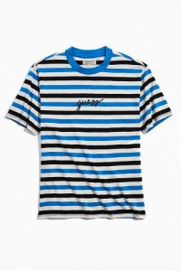 """GUESS - Camiseta Exclusive Stiped """"Grey/Blue/Black"""""""