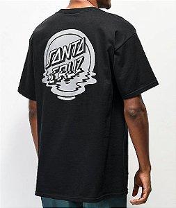 "SANTA CRUZ - Camiseta Reflection ""Black"""