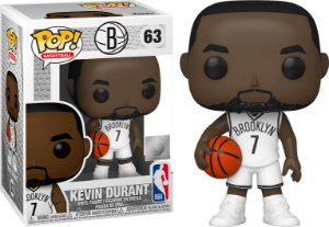 FUNKO POP! - Boneco Kevin Durant Brooklyn Nets #63