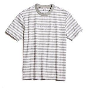 """GUESS X ASAP ROCKY - Camiseta Logo GUE$$ """"Cinza/Branco"""" -NOVO-"""