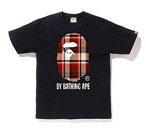"BAPE - Camiseta Check By Bathing Ape ""Black"""