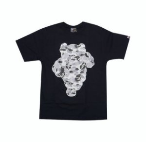 "BAPE X KAWS - Camiseta Michelin (2002) ""Black"""
