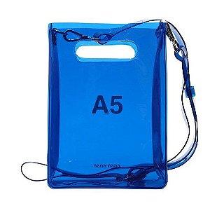 """NANA-NANA - Bolsa A5 """"Neon Blue"""""""