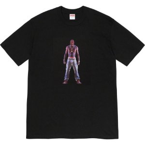 "ENCOMENDA - SUPREME X TUPAC - Camiseta Hologram ""Black"""