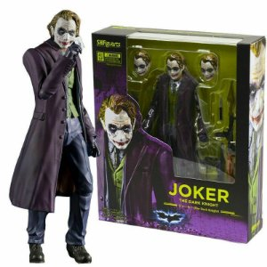 "SHFiguarts - Boneco Joker ""The Dark Knight"" -NOVO-"
