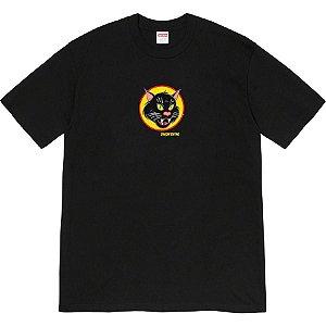 ENCOMENDA - SUPREME - Camiseta Black Cat