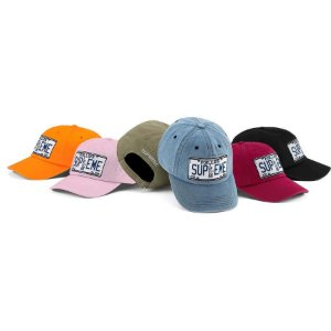 ENCOMENDA - SUPREME - Boné License Plate 6-Panel