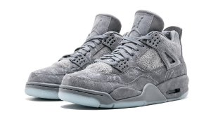 "Nike Air Jordan 4 Retro x Kaws ""Cool Grey"" -NOVO-"