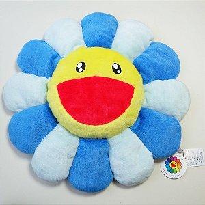 """KAIKAI KIKI - Pelúcia Murakami Flower Cushion """"Blue"""""""