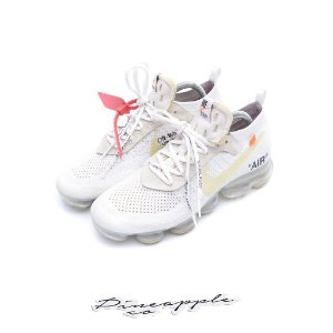 "NIKE x OFF-WHITE - Air VaporMax ""White"" -USADO-"