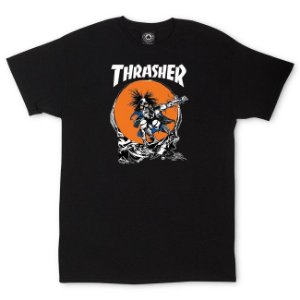 "THRASHER - Camiseta Pushead ""Black"""