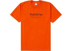 "SUPREME - Camiseta Shop ""Orange"""