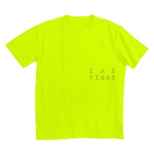 "KANYE WEST - Camiseta I Feel Like Pablo Las Vegas ""Lime"""