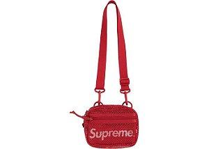 """!SUPREME - Bolsa Shoulder Small SS20 """"Vermelho"""" -NOVO-"""
