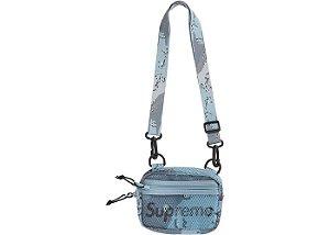 """SUPREME - Bolsa Shoulder Small SS20 """"Blue Desert Camo"""""""