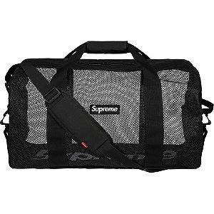 """SUPREME - Bolsa Big Duffle SS20 """"Black"""""""