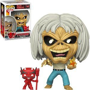 FUNKO POP! - Boneco Iron Maiden: The Number Of The Beast Eddie - #145