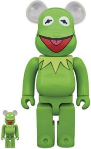 MEDICOM - Bearbrick 100% & 400%: The Muppets - Kermit