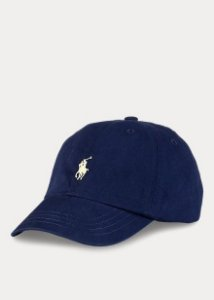 "Polo Ralph Lauren - Boné Baseball ""Navy/Yellow"""