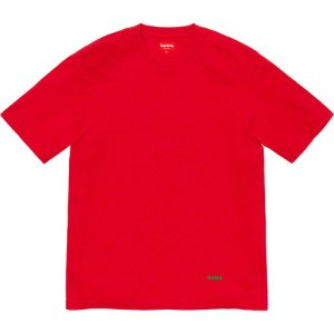 "SUPREME - Camiseta University Top ""Red"""