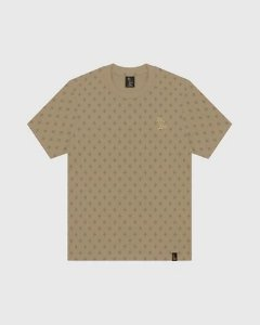"OVO - Camiseta Logo Monogram ""Khaki"""