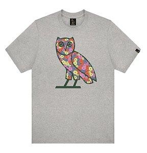 """OVO - Camiseta Celebration Owl """"Grey"""""""