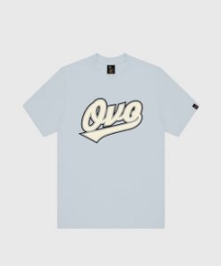 "OVO - Camiseta Lenox Script ""Light Blue"""