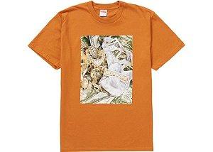 "SUPREME - Camiseta Bling ""Laranja"" -NOVO-"