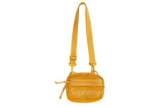 "SUPREME - Bolsa Shoulder Small SS20 ""Amarelo"" -NOVO-"
