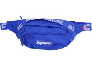 "SUPREME - Pochete Waist SS18 ""Royal Blue"""