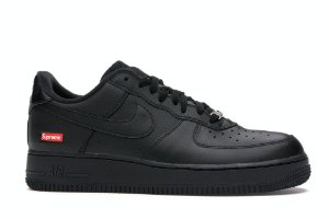 "ENCOMENDA - Nike Air Force 1 Low x Supreme ""Black"""