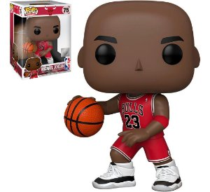 FUNKO POP! - Boneco Super Sized 10 Polegadas: Michael Jordan #75