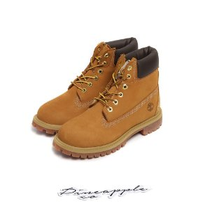 "Timberland 6-inch Premium Waterproof Boots ""Yellow"" (Infant/GS) -NOVO-"