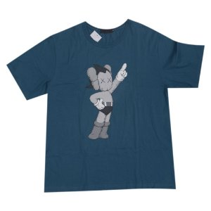 "ORIGINAL FAKE - Camiseta Kaws Atom Astroboy ""Dark Teal"""