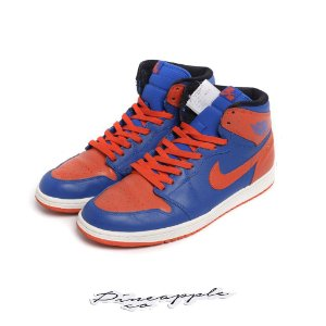 "NIKE - Air Jordan 1 Retro ""Knicks"" -USADO-"