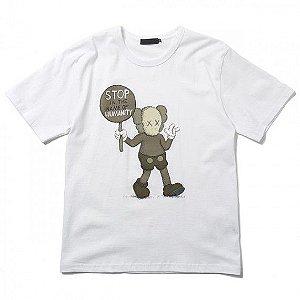 "ORIGINAL FAKE - Camiseta Kaws Stop In The Name Of Humanity ""White"""