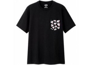 "UNIQLO x KAWS - Camiseta BFF Pocket ""Black"""