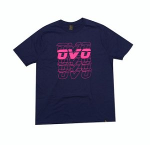 "OVO - Camiseta Neon Pink Logo ""Navy"""