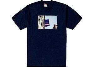 """SUPREME - Camiseta Baner """"Navy"""""""